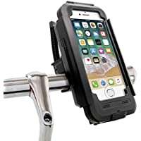 ddcc8345a3f MyGadget Soporte Bicicleta para Apple iPhone 6 / 6s con Touch ID - Base  movil Impermeable