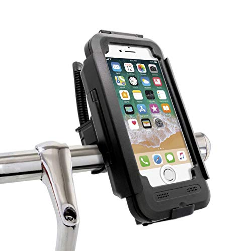 MyGadget Soporte Bicicleta para Apple iPhone 7/8 con Touch ID - Base Movil Impermeable contra Sacudidas...
