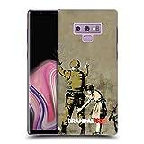 Head Case Designs Officiel Brandalised Gambade De Soldat Banksy Étiquettes de La Rue d'art Étui Coque D'Arrière Rigide pour Samsung Galaxy Note9 / Note 9