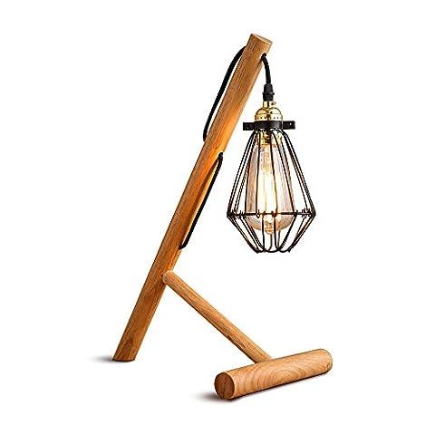 XCH Dazzling DL- Europäische Stil Retro Schreibtisch Lampe E27 Lichtquelle