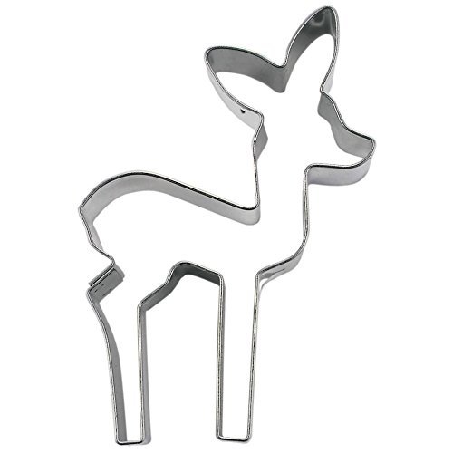 StÀdter Cookie Cutter 8 cm Stainless Steel (Divertimento Cookie Cutters)