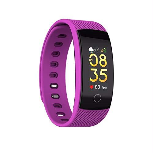 LRWEY Fitness Armband mit Pulsmesser, QS80 Plus Bluetooth Smart Watch Armband Herzfrequenz Blutdruck Fitness Tracker