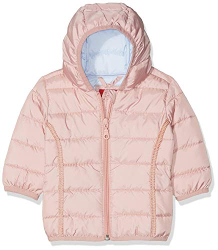 s.Oliver RED LABEL Junior Unisex - Baby Steppjacke mit Kapuze light pink 80