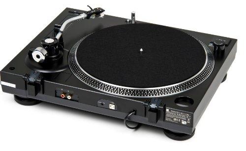 Dual DTJ 301.1 USB DJ-Plattenspieler (33/45 U/min, Pitch-Control, Magnet-Tonabnehmer-System, Nadelbeleuchtung, USB Kabel) schwarz - 6