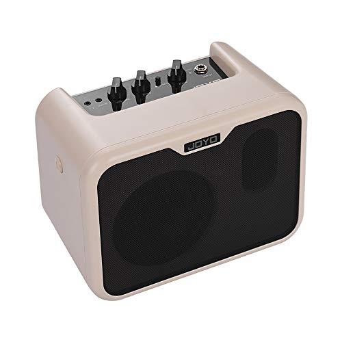 Muslady Amplificatore altoparlante per Basso elettrico Portatile 10 Watt JOYO MA-10B Mini Normale/Unità Dual Channels con Adattatore di alimentazione