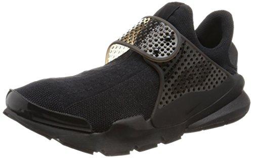 Nike Herren Sock Dart Laufschuhe, Black (Schwarz/Schwarz-Volt), 40 (Nike-dart)