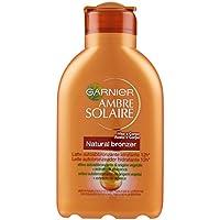 Garnier Ambre Solaire Crema Solare Abbronzante Natural Bronzer, Latte Autoabbronzante Idratante con Olio di Albicocca, 150 ml