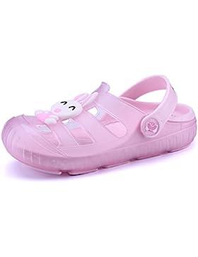 [Patrocinado]Gaatpot Zuecos Para Unisex Niños Sandalia Zapatos Zapatillas Chanclas de Playa de Verano 22-29