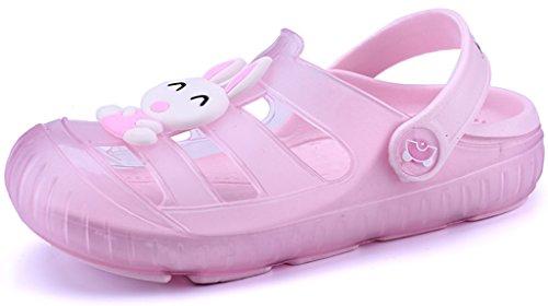 Gaatpot Sabot Zoccoli Scarpe Sandali Ragazzi Ragazze Ciabatte Pantofole Scarpette Mare Unisex - Bambini Rosa 26