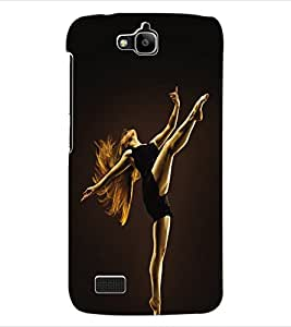 ColourCraft Dance Back Case Cover for HUAWEI HONOR HOLLY