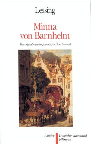 Minna von Barnhelm (édition bilingue) par Gotthold Ephraim Lessing