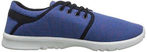 Etnies SCOUT Herren Skateboardschuhe Blau (BLUE/WHITE/GUM/444)