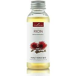 RICIN - 50mL - Huile Végétale Certifiée BIO, garantie vierge et de première pression à froid - Aromathérapie - La Compagnie des Sens