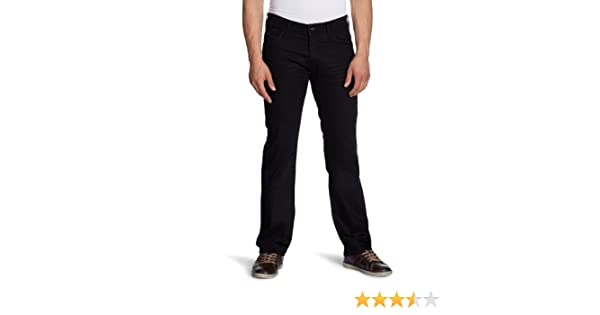 1dd1457acc Hilfiger Denim Herren Jeans 1950829682 / Ryder F09 CHC, Straight Fit  (Gerades Bein), Schwarz (CHICAGO COATED STRETCH), 28W / 32L: Amazon.de:  Bekleidung