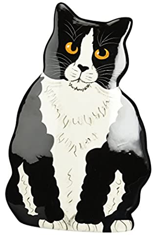 Rescue Me Now Pavilion Gift, Large Tuxedo Cat Vase, 11-1/2-Inch