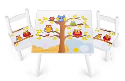 Tavolini In Legno Per Bambini : Tavolino sedie set cameretta per bambini tavolo e sedie in legno