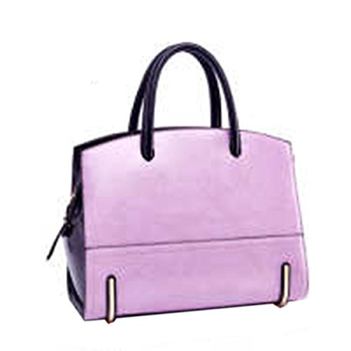WU Zhi Lady In Pelle Borse Sacchetto Del Messaggero Purple
