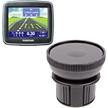 DURAGADGET Support fixation porte-gobelet voiture pour GPS TomTom Start 2, 25, 60, XL 23 Europe & Classic