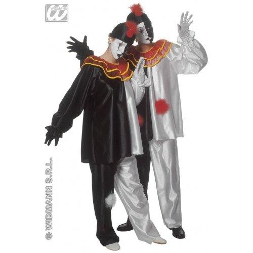 Sancto Pierrot-Kostüm für Erwachsene (Sanctos Kostüm)
