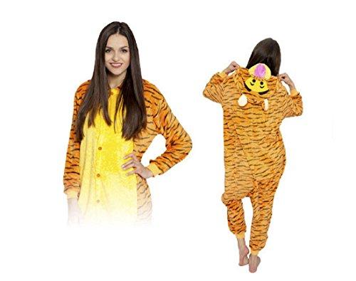 e Cosplay Kostüme Pyjama Erwachsene (Winnie The Pooh Und Halloween Zu)