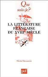 La Littérature française du XVIIIe siecle