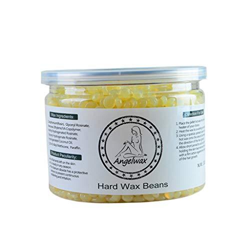 Honig Kalt Wachs (Sharplace 300g Hard Wax Beans Pellet Waxing Körper Haarentfernung Wachs Bohnen Heißwachs - Honig)