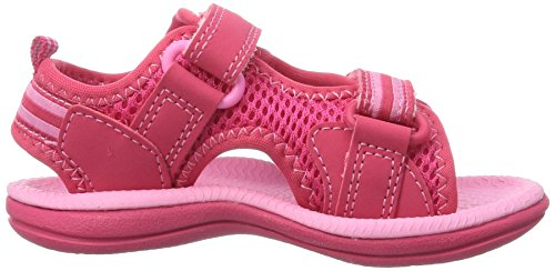 Clarks Star Games Fst, Sandales fille Rose (Pink Synthetic)