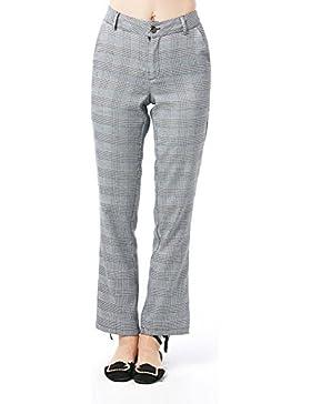 SYGoodBUY Pantalones de Mujer de Manga Larga Elegantes Pantalones de Trabajo Ocasionales Elegantes para el Otoño...