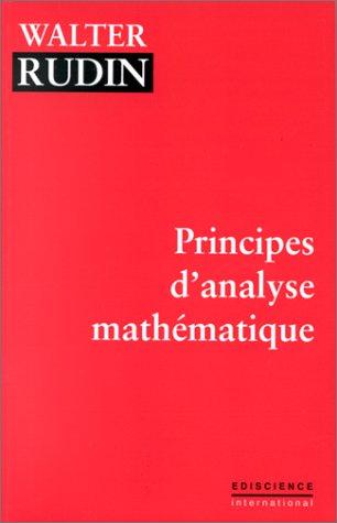 Principes d'analyse mathématique par Walter Rudin