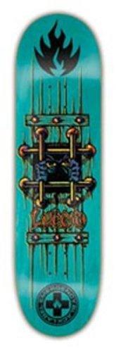 Black Label Notfall OG Bars Lucero Skateboard Deck (20,64X 32,125,–Farben können variieren) (Black Label Deck)