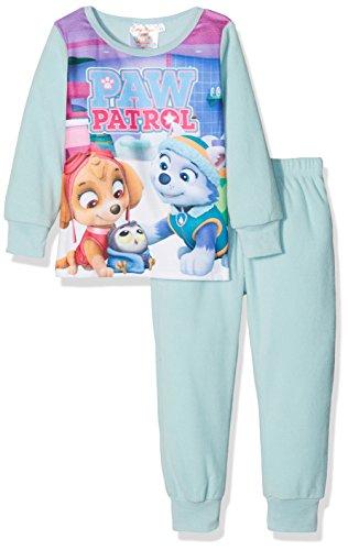 Nickelodeon Mädchen Bademantel Paw Patrol to The Skies, Blau (Blue 13-4411TC), 6 Jahre