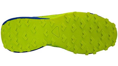 Scarpe Da Ginnastica Da Uomo Lekann Per Outdoor E Fitness Blu (blu / Verde Neon)