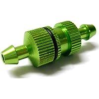 L11502 1/10 Escala R/C RC Motor Nitro Pequeño En línea Aleación Aceite Filtro De Combustible Verde
