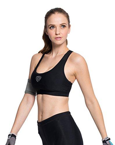 lonior femmes sous-vêtements de soutien-gorge rembourré Gym Fitness Yoga pour Femme Soutien-gorge de sport Bra