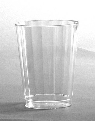Classic Crystal 10 Oz. Fluted Tumbler Cups Wna /128ct. Rscc101516 by WNA Fluted Crystal