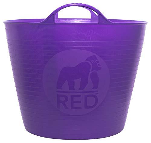 Decco Ltd Cubo Flexible, Morado, 26 litros