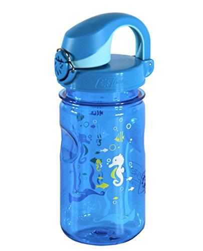 Nalgene Kinder Trinkflasche Everyday OTF Blau, 0.375 Liter