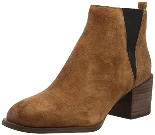 Nine West Eaden, Stivali donna Marrone Brown (Dark Nut/Black) 36