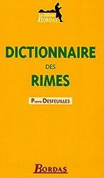 DICTIONNAIRE BORDAS DES RIMES 05    (Ancienne Edition)