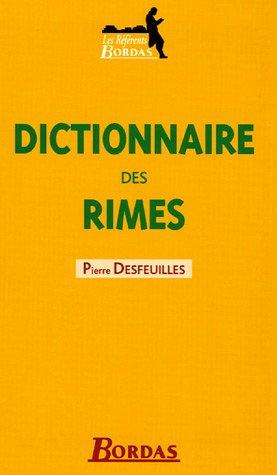 DICTIONNAIRE BORDAS DES RIMES 05 (Ancienne Edition) par Jacques Auel