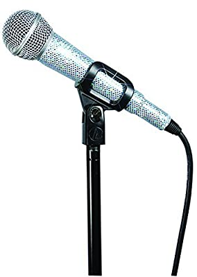 MicFX SF057 Arctic Diamond Glit Corded Microphone Sleeve - Baby Blue