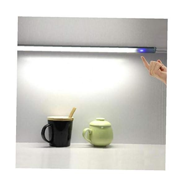 Romote 1Pc llevado bajo luz del gabinete de la lámpara PIR Con sensor de movimiento de 21 LEDs de iluminación para el… 1