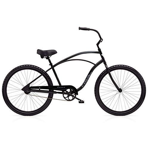 "Electra Cruiser 1 Tall Herren Fahrrad 26\"" Schwarz Beach Cruiser Rad Retro Singlespeed, 513000"