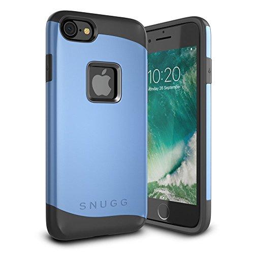 Snugg iPhone 7 Hülle, Apple iPhone 7 Stoßfeste Schutzhülle Case Tasche [Infinity Range] Schützende Hardcase – Blau