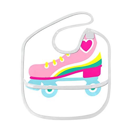 Reopx Sport Rollschuh Schuhe weiche wasserdichte waschbare Flecken und geruchssichere Baby Fütterung Dribble Sabber Lätzchen Spucktücher für Kleinkind insgesamt für 6-24 Monate Kinder Geschenke -