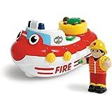 WOW Toys - Fireboat Felix, coche de juguete (01017)