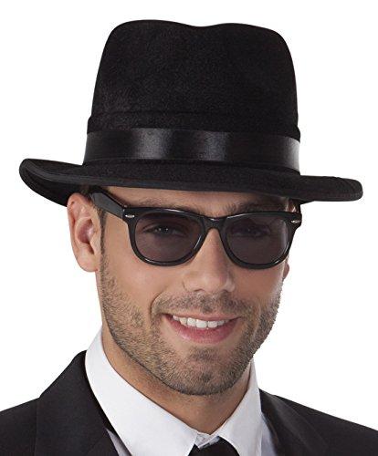 erdbeerclown - Brille Kostüm Sonnenbrille Bodyguard, (Kostüme Halloween Mädchen Nerd)
