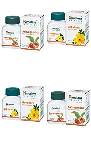 Himalaya Combo Of Ashvgandha And Gokshura - Pack Of 4...