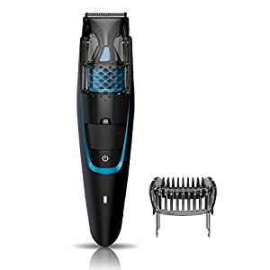 Philips Vacuum Beard Trimmer Cordless  and Corded for Men BT7206/15