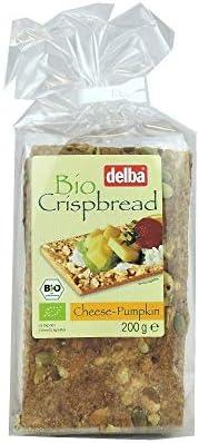 Delba Crispbread Cheese Pumpkin - 200 Gm